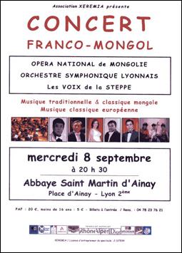 Concert mong 8