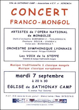 Concert mon 7